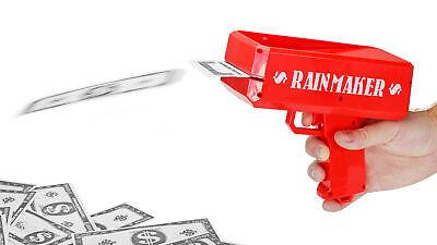 Money Gun Rainmaker Make It Rain w/ Fake Money Bachelor Parties Gag Novelty NEW Greeting Cards & Party Supply