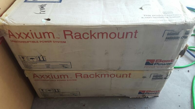 Axxium Rackmount Best Power Uninterruptible Power Supply UPS-VERY OPEN TO OFFERS