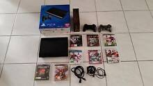 PLAYSTATION 3, PS3 + 8 Games 500GB Golden Grove Tea Tree Gully Area Preview