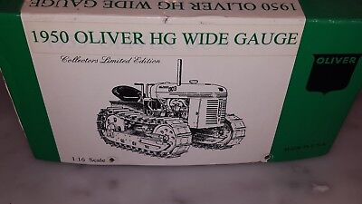 Stephen Adams Manufacturing Oliver Hg Wide Gauge Tractor 116 Scale Mint