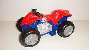 Vehicule quad de spiderman marche a piles 9x15cm ebay - Quad spiderman ...