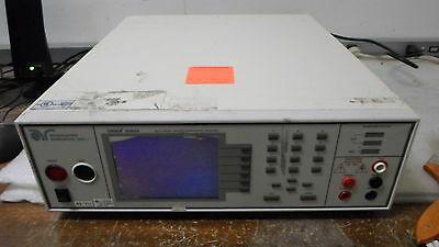 Associated Research Model 8106 Electrical Safety Compliance Analyzer BAD DISPLAY