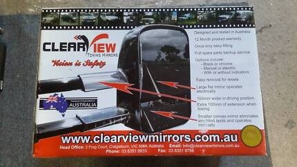 Clearview Towing Mirrors, NEW, suit Nissan Navara & Pathfinder Ascot 3551 Bendigo City Preview