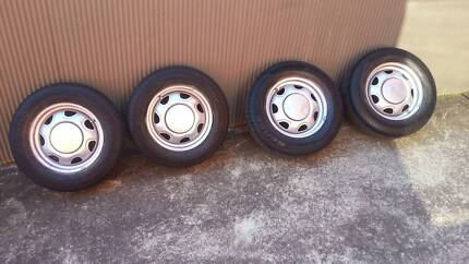 ***TYRES RIMS 4 SALE 4 STUD **** Port Kembla Wollongong Area Preview