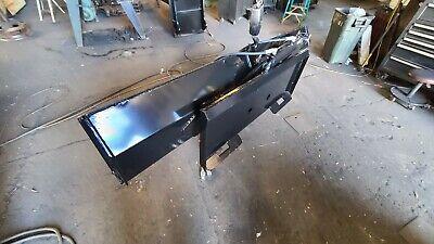 New Design New 78 Inch Tilt Dozer Blade For Skid Steer Snow Plow Fits Bobcat