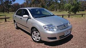 2004 Toyota Corolla Ascent Sedan - 11 Months Rego! RWC Already! Preston Darebin Area Preview