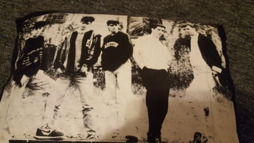 New Kids On The Block NKOTB Small Decorative Pillow 1989 Wahlberg