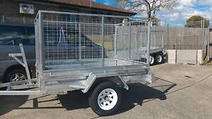 7x5 fully welded Gal trailer 600 cage.Also come in 6x4,7x4 Dapto Wollongong Area Preview