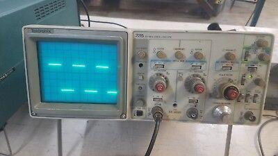 Tektronix 2215a 60mhz Oscilloscope With Service Manual