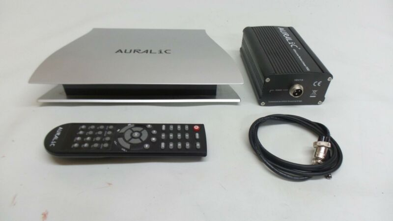 Auralic Aries streaming network player with psu and  remote, for i-phone