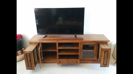 High Quality Large Solid Wooden TV Cabinet at a Bargain Price