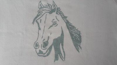 T-Shirt Gr. 146 rosa mit großem silbernem Pferd, Arizona, für stärkere Mädchen ()
