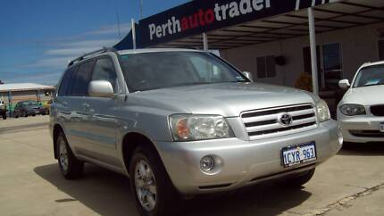 2004 Toyota Kluger CVX AWD 7 Seat SUV Kenwick Gosnells Area Preview