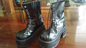Demonia Ranger 301 boots Booval Ipswich City Preview