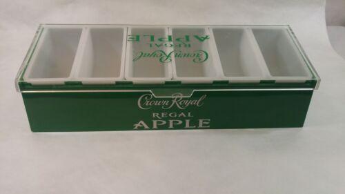 Crown Royal Regal Apple, Condiment Fruit Nuts Bar Serving Tray Plastic