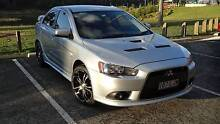 2008 MY09 TURBO MITSUBISHI LANCER RALLIART TC-SST AWD 6 Speed Brisbane City Brisbane North West Preview