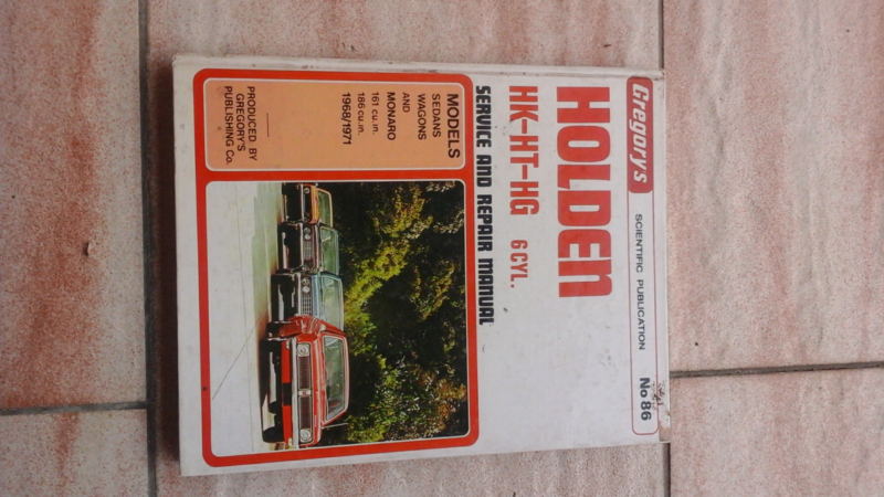 Holden ht hk hg service manual can post other parts holden ht hk hg service manual can post other parts accessories gumtree australia hawkesbury area north richmond 1175680839 sciox Gallery