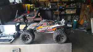 Traxxas rustler vxl  brushless rc car Erakala Mackay City Preview