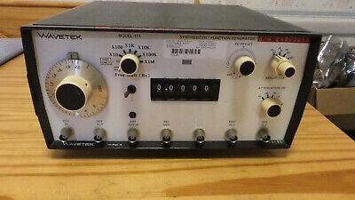 Wavetek 171 Synthesizerfunction Generator 2mhz