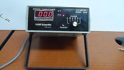 Vwr Scientific E C Meter Model 1054