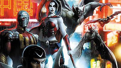DC Comics Suicide Squad Harley Quinn Deadshot Fridge Magnet Decor #4