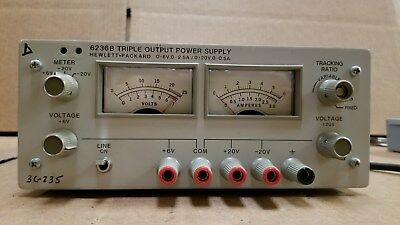 Hp 6236b Triple Output Power Supply Good 1