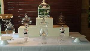 HIRE $50 6 x Lolly buffet jars and accessories Oxenford Gold Coast North Preview