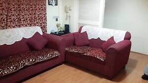 Sofa cum bed with pillo Mount Druitt Blacktown Area Preview
