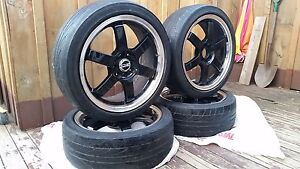 17inch Universal OZrims and Dunlop tires Cambridge Kitchener Area image 1