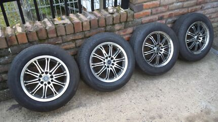 Near new wheels and tyres Chester Hill Bankstown Area Preview