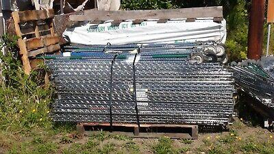 5 Tier 72 X 36 Chrome Adjustable Steel Metal Shelving Racks On Casters