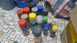 Assorted spray paint Innaloo Stirling Area Preview