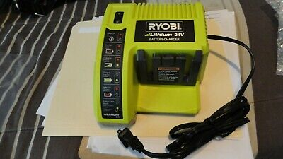 Oem New Ryobi Op140 24 Volt Lithium Ion Charger Free Priority Mail Same Day Ship