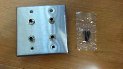 Stereo-wall Plate (1/4