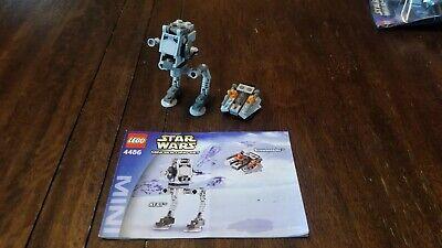 Lego Star Wars 4486 AT-ST & Snowspeeder - Mini 100% Complete w/ Manual