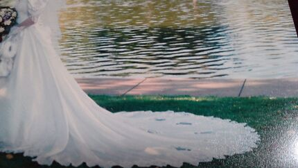 Wedding Dress size 10 Seaford Morphett Vale Area Preview