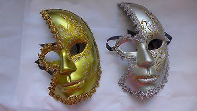 Men Masquerade Mask Party Costume ball Halloween Venetian mystery Clown doll  - Mens Masquerade Ball Costumes