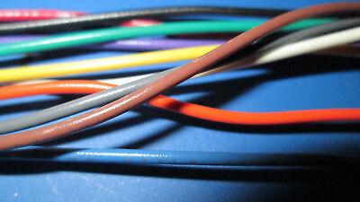 22 Awg Gauge Stranded Hook Up Wire 10 Colors 10 25 50 Ft Ul1007 300v