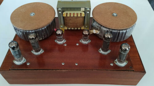 El84 Parallel single ended amp made after AN P1 se