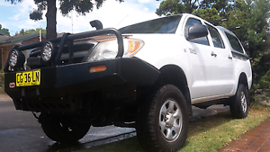 Twin cab hilux Glenwood Blacktown Area Preview