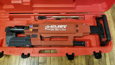 Hilti Dx 860-hsn Powder Actuated Nailer With Case