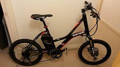 Benelli City Link Sport electric bicycle ebike USED electric bike
