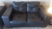 Leather Sofa 2 seater Point Cook Wyndham Area Preview