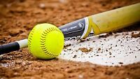 Looking for a female softball player for a Co Ed league!