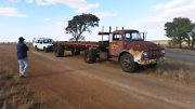 Bedford J5 prime mover and trailer Nuriootpa Barossa Area Preview