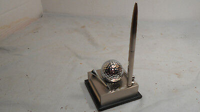 Golf Ball Desk Set Pen