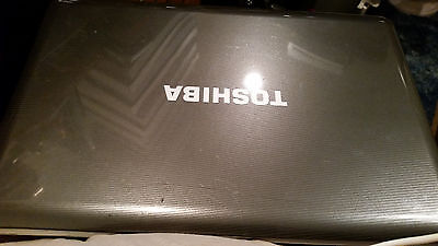 TOSHIBA SATELLITE L505-ES5018 No Hard Drive Screen Not Working Properly As Is