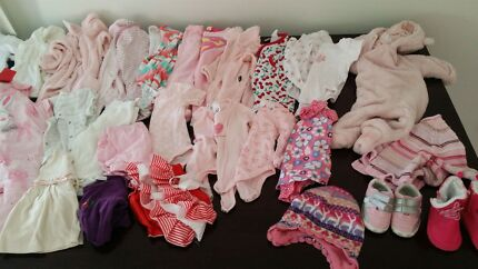 Baby girl clothes 000 Brassall Ipswich City Preview