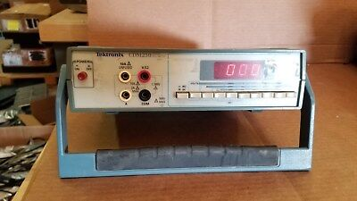 Tektronix Cdm250 Digital Multimeter Working
