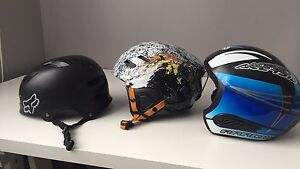 Helmets for skiing and multi sport